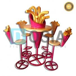 FT13 - Frytki figura reklamowe-dekoracyjna