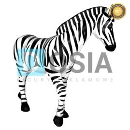 ZW14 - Zebra figura reklamowa,dekoracyjna