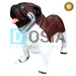 FZ75 - Pies figura reklamowa, dekoracyjna