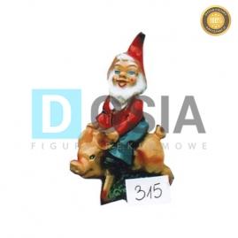 315 - Figura dekoracyjna - Krasnal 30 cm