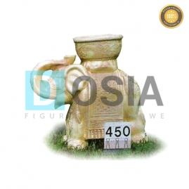 450 - Figura dekoracyjna - Zwierzęta 45 cm