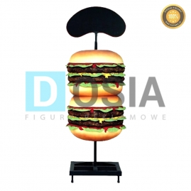 FF02 - Hamburger figura reklamowa-dekoracyjna