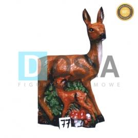 77 - Figura dekoracyjna - Zwierzęta 82 cm