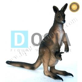 ZW18 - Kangur figura reklamowa,dekoracyjna