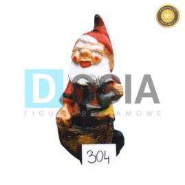 304 - Figura dekoracyjna - Krasnal 40 cm