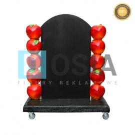 OW19 - Jabłka figura reklamowa-dekoracyjna