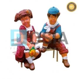 389 - Figura dekoracyjna - Postacie 65 cm