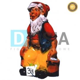 34 - Figura dekoracyjna - Krasnal 70 cm