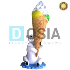 LD09 - Lody figura reklamowa-dekoracyjna