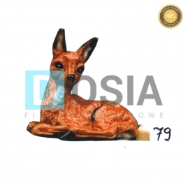79 - Figura dekoracyjna - Zwierzęta 35 cm