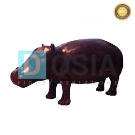 ZW05 - Hipopotam figura reklamowa,dekoracyjna