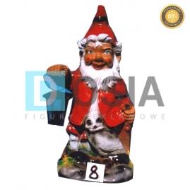 8 - Figura dekoracyjna - Krasnal 80 cm