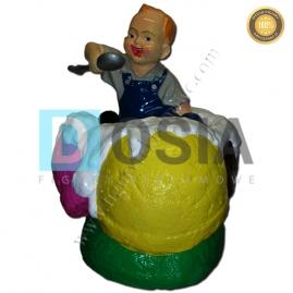 LD12 - Lody figura reklamowa,dekoracyjna