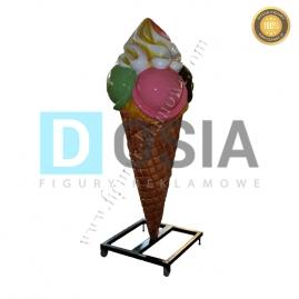 LD39 - Lody figura reklamowa, dekoracyjna