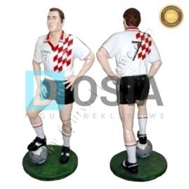SR06 - Piłkarz figura reklamowa-dekoracyjna